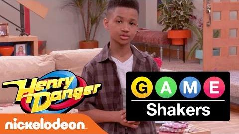 Henry Danger & Game Shakers Crossover Kid Trainer Demarjay Smith Motivates the Casts Nick
