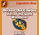 Decked Out Cowboy Hat of the Lone Wanderer (Legendary)
