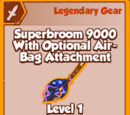 Superbroom 9000 With Optional Airbag Attachment (Legendary)