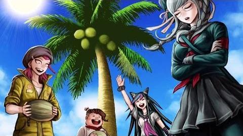 Danganronpa 2 Goodbye Despair - Coconut Party Chapter 1 Event