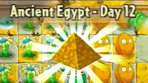 Ancient Egypt Day 12 - Plants vs Zombies 2 Its About Time
