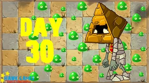 Plants vs. Zombies 2 - Ancient Egypt Day 30