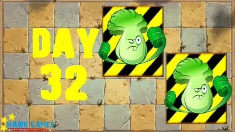 Plants vs. Zombies 2 - Ancient Egypt Day 32