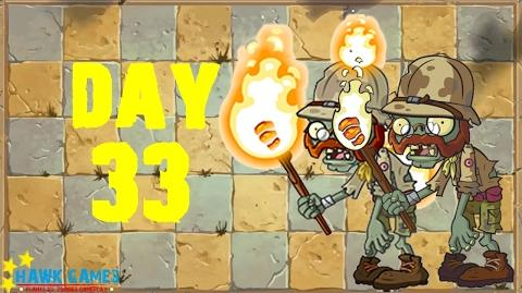 Plants vs. Zombies 2 - Ancient Egypt Day 33