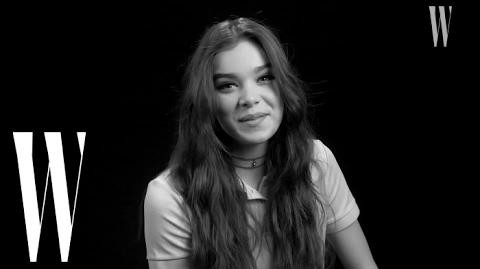 "Hailee Steinfeld's First Kiss Was On Screen ""Yeah, I Was Nervous!"" W Magazine"