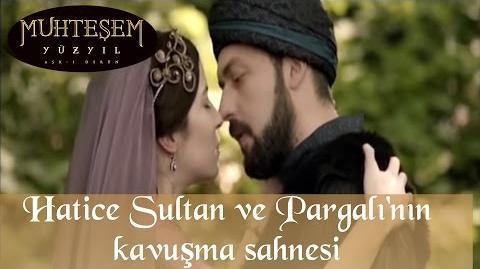 Hatice Sultan ve Pargalı'nın Kavuşma Sahnesi - Muhteşem Yüzyıl 59.Bölüm