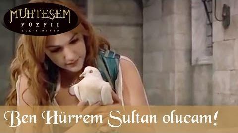 Ben Hürrem Sultan Olucam! - Muhteşem Yüzyıl 3. Bölüm