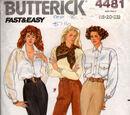 Butterick 4481 A