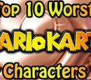 Top 10 Worst Mario Kart Characters
