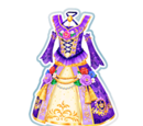 Perfect Purple Rose Coord