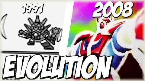 Evolution of Dragon's SHINE SPARK (1991-2008) シャインスパーク SRW