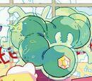 Гигантская зелёная сороконожка