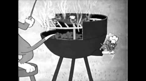 "Tom's Drowning - Tom & Jerry ""High Steaks"" coarse cut"