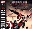 Generations: Sam Wilson Captain America & Steve Rogers Captain America Vol 1 1