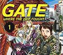 GATE Where the JSDF Fought English Manga