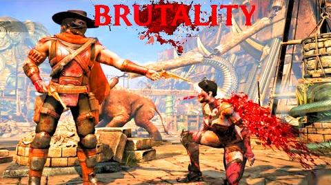 Mortal Kombat X All Erron Black's Fatalities, Brutalities, X Ray & Ending
