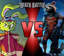 Bucky O'Hare VS Rocket Raccoon