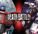 Optimus Prime vs. RX-78-2 Gundam