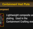 Containment Vest Plate