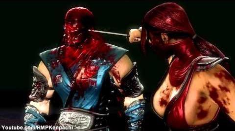 Mortal Kombat 9 - SKARLET X RAY, FATALITIES, BABALITY, and ARCADE ENDING