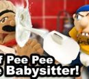 Chef Pee Pee The Babysitter!