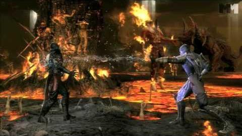 Mortal Kombat 9 - Rain new kombatant trailer HD OFFICIAL Trailer MK9 (2011)