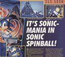 Sonic Spinball magazine scans