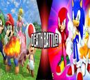 Team Mario vs Team Sonic