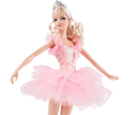 Ballet Wishes Barbie Doll (X8276)
