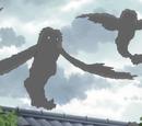 Flying Grey Youkai
