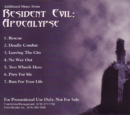 Additional Music from Resident Evil: Apocalypse