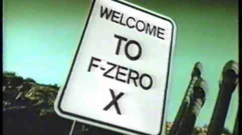 F-Zero 64 Commercial 1998