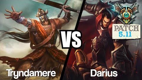 TRYNDAMERE VS DARIUS - Gameplay Fr - SoloQ Master
