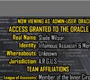 Oracle Files: Slade Wilson 2