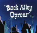 Back Alley Oproar