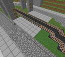 Minecraft Illusions/Schienennetz/Bahnhof Schloss Grauforstheide