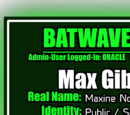 Batwave Files: Max Gibson