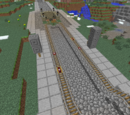 Minecraft Illusions/Schienennetz/Bergstraße