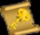 Manuel pour clé-squelette en or
