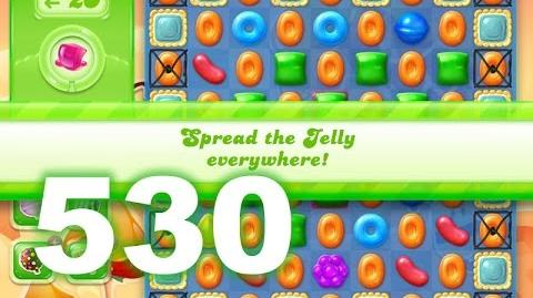 Candy Crush Jelly Saga Level 530 (3 star, No boosters)