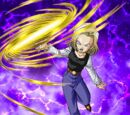 Ferocious Counterattack Android 18