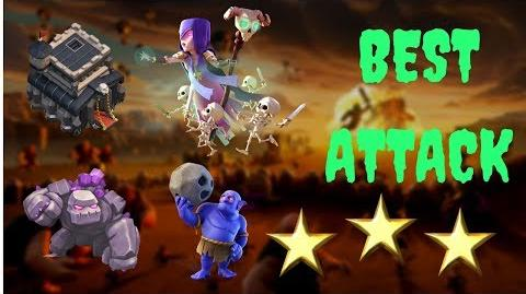 Best Witch Attack for 3 stars GOWIBO TH9 Attack Strategy 2017 clash of clans