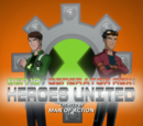 Ben 10-Generador Rex: Héroes Unidos