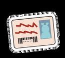 Arthur Card Sticker
