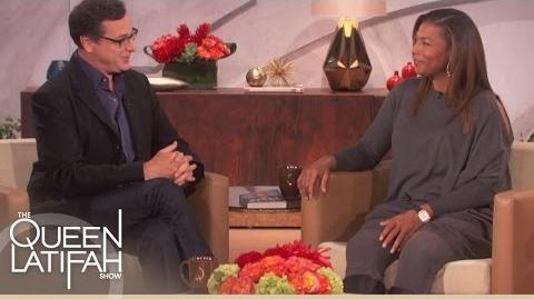 """Bob Saget Discusses His Book, """"Dirty Daddy"""" The Queen Latifah Show"""