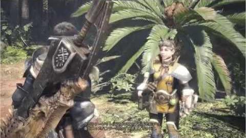 Monster Hunter World - Japanese E3 Multiplayer Demo Footage