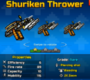 Shuriken Thrower