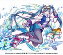 Snow Miku & Rabbit Yukine 2016
