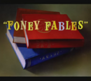 Foney Fables