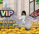 4 Meses VIP + MiniMoedas + Mansão GRÁTIS